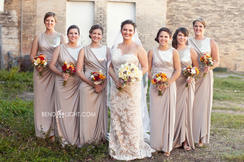 Brown And Cream Bridesmaid Dresses - Flower Girl Dresses