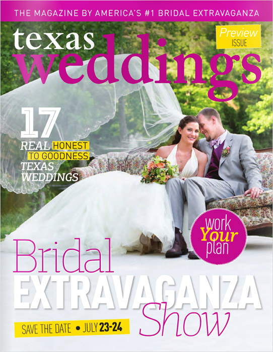 Texas Weddings Magazine 1 SMALL FOR BLOG