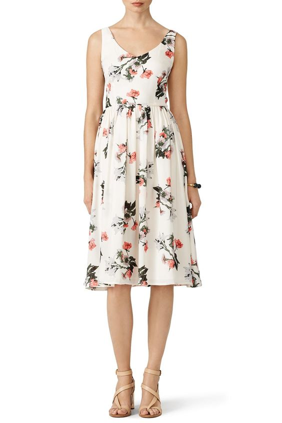 vory Petals Dress by BB Dakota for $30 - $45 only at Rent the Runway
