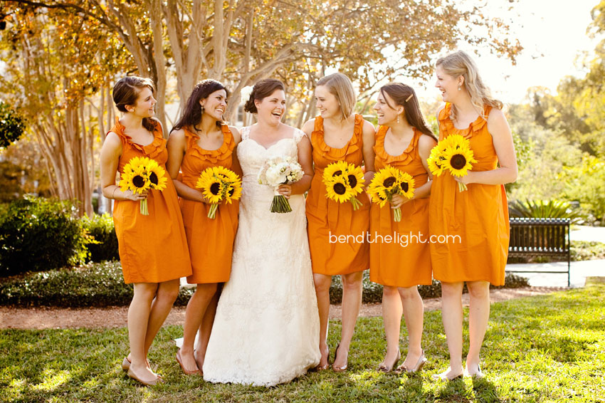 12 Fall Wedding Colors Burnt Orange Sunflowers Bridesmaid Dresses Landa Library Mcnay Art Museum Reception Trinity University Tu Parker Chapel
