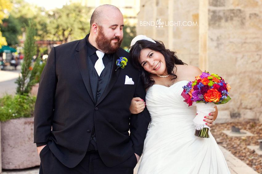 Lydia Corey San Fernando Cathedral Wedding Ceremony