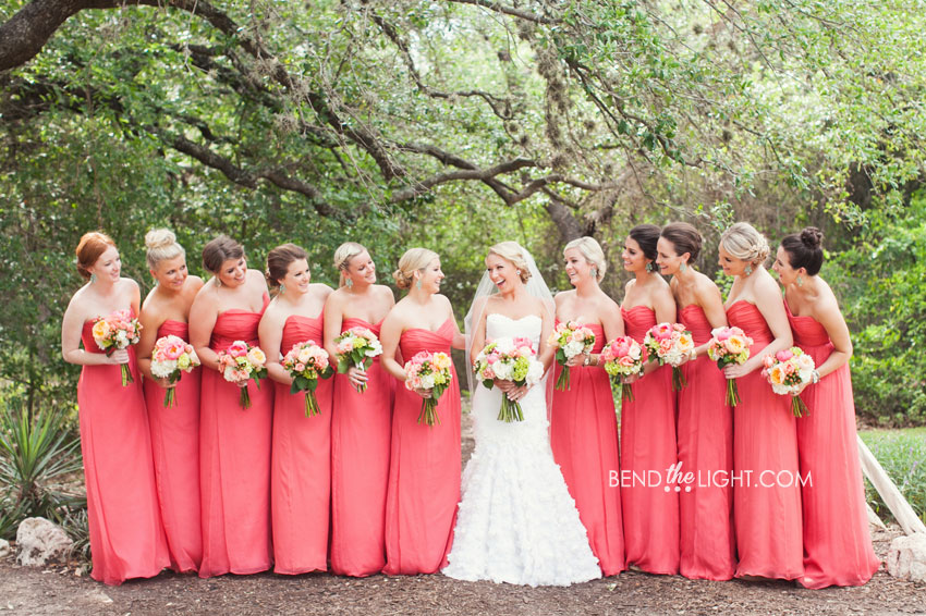 27 Coral Bridesmaid Dresses Coral Wedding Colors Weddings At The
