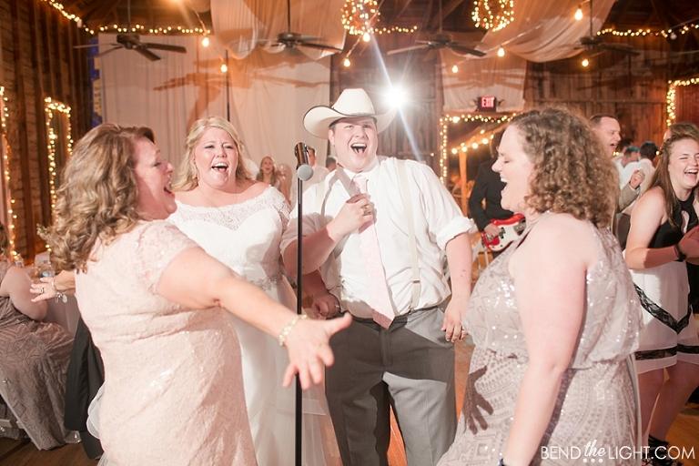 Shelby Derek Sisterdale Dancehall Wedding Ceremony